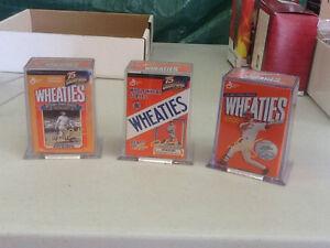 Wheaties Mini Box Baseball Collectibles