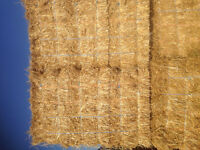 Wheat straw small squares