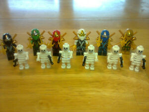Skeleton and ninja characters - Lego Compatible