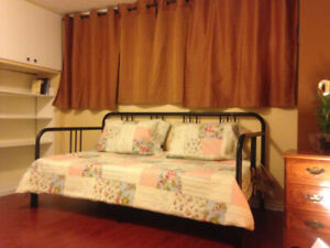 Spotless, Furnished Single Room, Pvt Washroom from July $800
