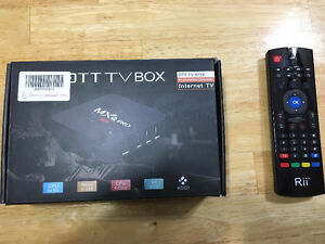 Android Box (High End) + Rii Remote/Keyboard/Mouse
