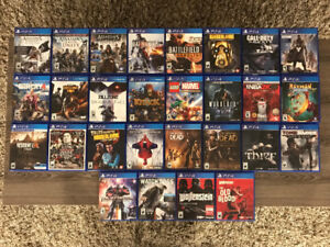 28 PlayStation 4 Games for Sale
