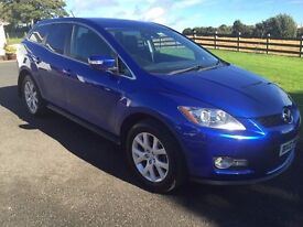 2008 MAZDA CX7 4x4 2.3 DSI TURBO 250 BHP WITH ONLY 81000 MILES