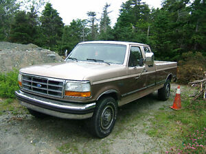 1992  F 250 Pickup Truck special ordered $4500 ono