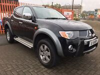 2008 (08) Mitsubishi L200 2.5 DID Warrior 4WD 4DR / 95k FSH / 12 month MOT / 3 month warranty