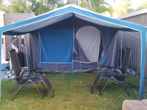 Large 2 Bedroom Canvas Tent