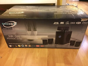 Brand new unopened home theatre system