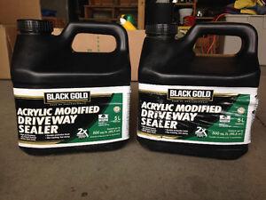 Driveway sealer x2 5L pails - Black