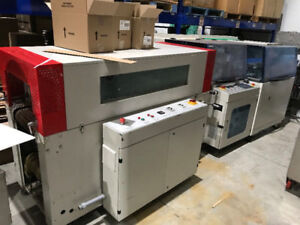 Automatic sealing and packing machine, and Tunnel Machine