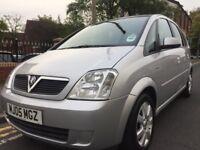 2005 Vauxhall Meriva 1.6 Breeze 5 door automatic *long mot*