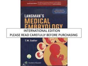 Langman's Medical Embryology by T. W. Sadler