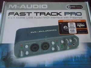 M- AUDIO FAST TRACK PRO for Sale $100