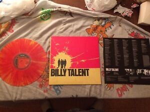 RARE BILLY TALENT RED AND YELLOW VINYL London Ontario image 2