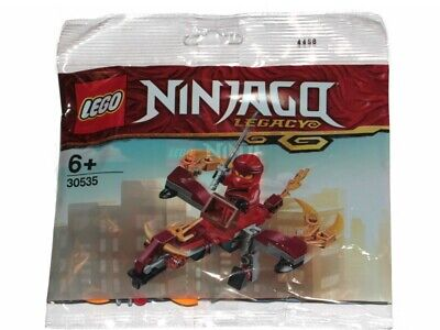 LEGO POLYBAG NINJAGO LEGACY RED NINJA KAI FIRE FLIGHT DRAGON 30535](Kai Lego Ninjago)