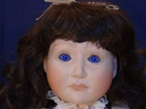 Meggan's Collectors Canadian Procelain Handmade Doll (Noele) London Ontario image 1