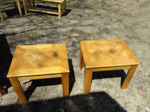 Multiple coffee and end Tables