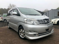 FRESH IMPORT 2006 56 FACE LIFT TOYOTA ALPHARD 3.0 VVTI AUTO ONLY 27000 MILES