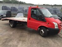Ford transit recovery brand new alloy body and 8ton winch 3495