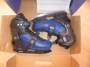 Adjustable skates, kids' sizes 13 to 2.5, excellent condition