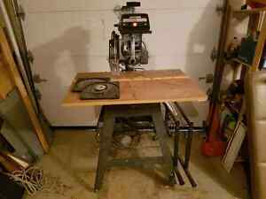Radial arm saw West Island Greater Montréal image 3