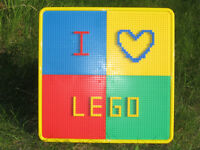 Lego Table and Chair