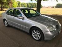 2003 Mercedes-Benz C270 2.7TD auto CDI Elegance SE Full MOT 10 Stamps 2 Keeper