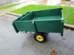 TRAILER FOR LAWN OR GARDEN TRACTOR
