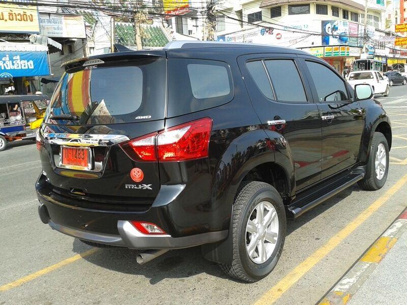 BLACK TRUNK TAIL REAR TAILGATE CARGO TRAY FOR ISUZU MU-X 2014 SUV