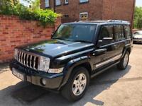 Jeep Commander 3.0CRD V6 auto Limited, MOT OCT 2018, 2 KEYS, FSH, 7 SEATS!