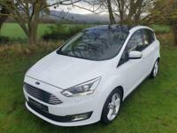 2017 '67' FORD C-MAX ECOBOOST 125 TITANIUM X NAV FINISHED IN FROZEN WHITE.