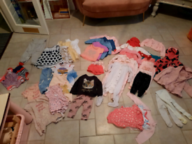 9-12 months Girls clothes bundle