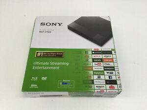 Sony BDP-S1500 1080P Blu-Ray & DVD Player with Netflix, and Apps