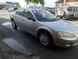 2002 Chrysler Sebring LX Berline
