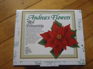 """Andrea""""s Flowers - Red Pointsettis"""