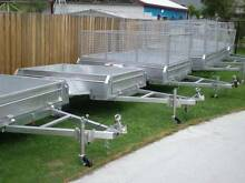 TRAILERS BRISBANE  BOX  CAGED  FROM $997 6x4 7x4 7x5 8x5 10X5 10X Coopers Plains Brisbane South West Preview