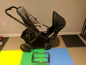 Uppababy Vista Stroller + Rumble seat + Car Seat + More