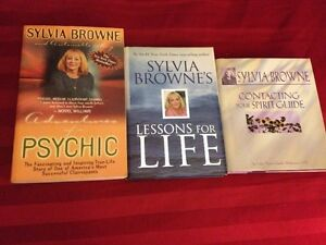 "WORLD REKNOWN PSYCHIC ""SYLVIA BROWNE""  Books/ CD/Tapes Peterborough Peterborough Area image 2"