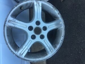 4 rims off a chevy uplander