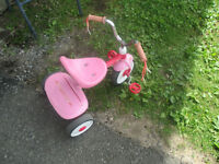 A Pink Tricycle
