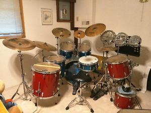 Whloe set drum