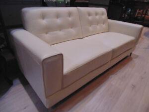 Modern White Sofa(Trail)