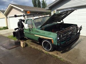 1975 Chevrolet C10 350 Winch/Tow Truck RUNS AND DRIVES