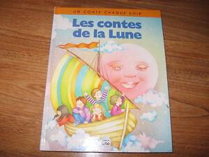 Livre vintage «Les contes de la lune»