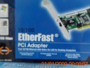 new 10/100 ethernet pci card