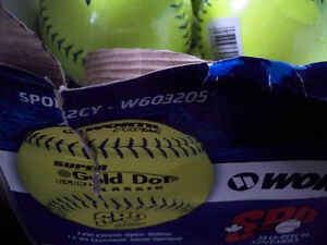 SLOW PITCH BAESBALL'S WORTH 12'' NEW IN PKG.10 IN TOTAL Stratford Kitchener Area image 2