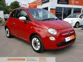 FIAT 500 COLOUR THERAPY Red Manual Petrol, 2015