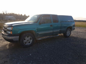 Chevrolet Truck 1 & Half Cab with Cap..Loaded ,Air,Cruise etc.