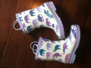 Hatley Rain Boots - youth size 13