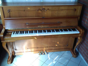 Like New German Upright Piano - Free tuning & Delivery Included