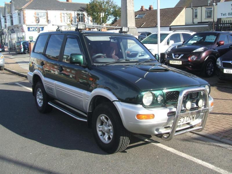 6762b00fc424d5 Nissan Terrano II SE Touring TDi DIESEL MANUAL 1998 R